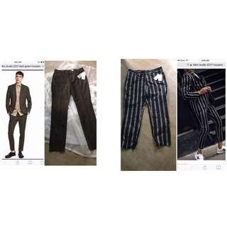 BNWT H&M studio 2017 trousers