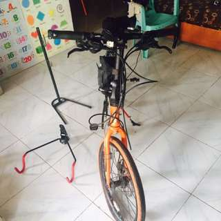 Trinx foldable bike