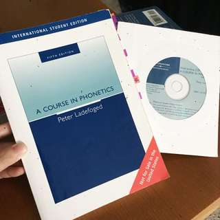 Course in phonetics語音學 音韻學