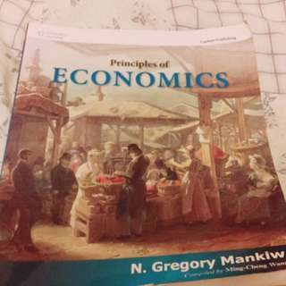 Principles of economics 經濟原文書Gregory Mankiewicz's