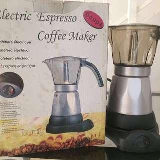 Electric Espresso Coffee Maker