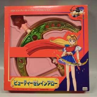 小紅帽恰恰 美麗聖潔弓箭 攻擊器 變身器 魔法棒 小魔女doremi 美少女戰士 美品