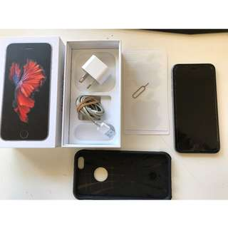 Apple iPhone 6s Space Grey Smartphone 64GB - excellent condition