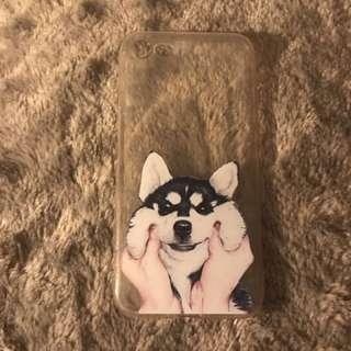 iPhone 7 Huskie Puppy case
