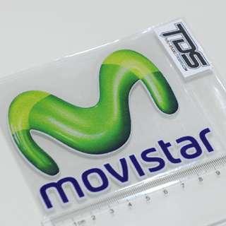 汽車 機車 摩托車 電動車 反光貼 46羅西 MOVSTAR MOTOGP贊助商貼紙 反光貼 貼紙 車貼