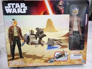 "Star Wars Force Awakens 12"" Poe Dameron"