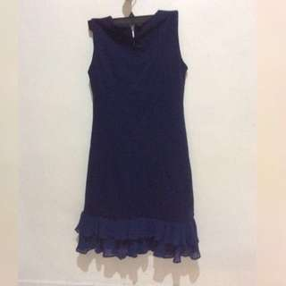 🆕Navy blue dress #lagigempak