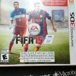 Nintendo 3ds FIFA 15