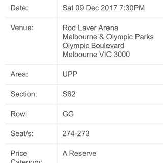 The weeknd Melbourne concert tickets