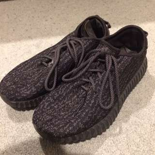 Yeezy Boosts Black Adidas Sneakers