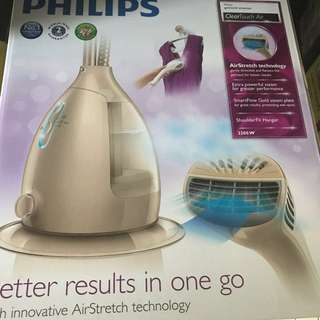 Philips Garment Steamer/ Steam Iron GC568