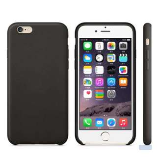 Iphone 7Plus soft leather casing (Black)