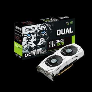 ASUS Dual series GTX 1070 OC edition 8GB (Limited Stock)