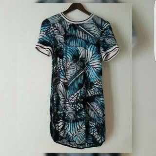 warehouse mini dress