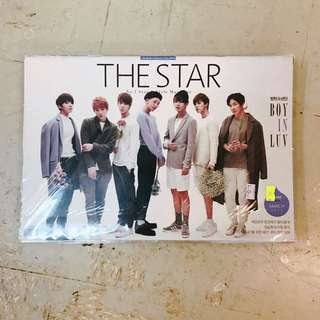 BTS THE STAR雜誌