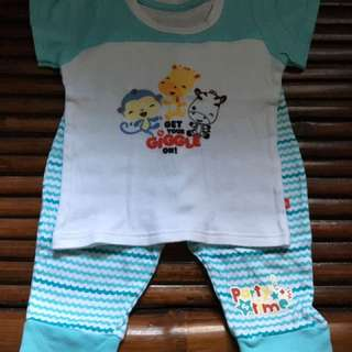 Fisher Price Shirt/Pj Terno