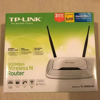 TP-Link TL-WR841N, 300Mbps Wireless N Router