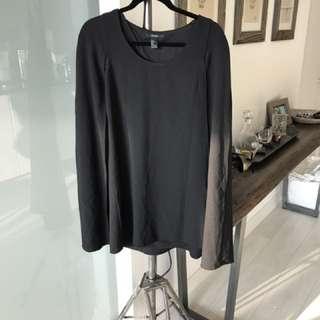 Black Cape Dress Size S