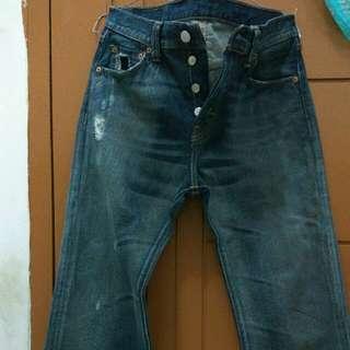 Levi's jeans belel