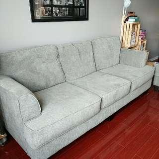 Taupe Sofa Set