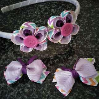 Hair Clip And Headband
