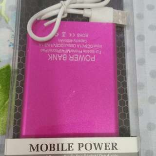 Brand New Pink PowerBank