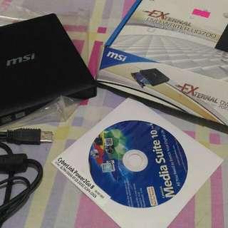 MSI External Portable DVD Reader-Writer