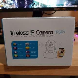 Pan Tilt Wireless IP Camera