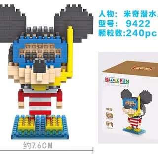 Mickey LOZ Nano Block