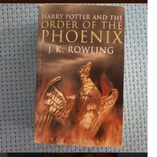 Harry Potter and the Order of the Phoenix, Tome 5