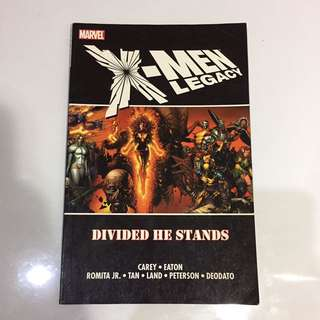 Marvel Comics: X-men Legacy: Divided He Stands