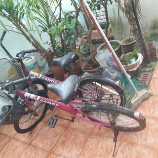 2 unit bicycles for girl