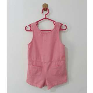 Gingersnaps Pink Romper