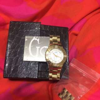 Gold Watch Oyster by GUESS