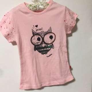 零碼出清-貓頭鷹T恤(9、11)