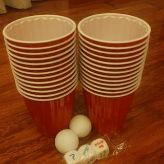 BEER PONG RED CUPS!