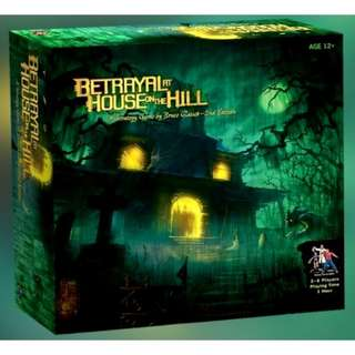 Betrayal At The House On The Hill [English]