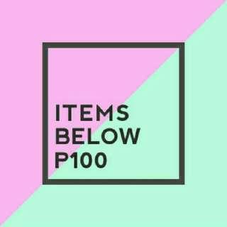BELOW 100!