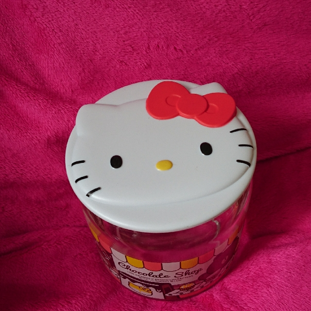 7-11 X Sanrio Hello Kitty 玻璃樽