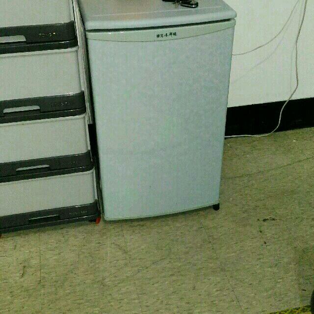 東元小鮮綠單門冰箱