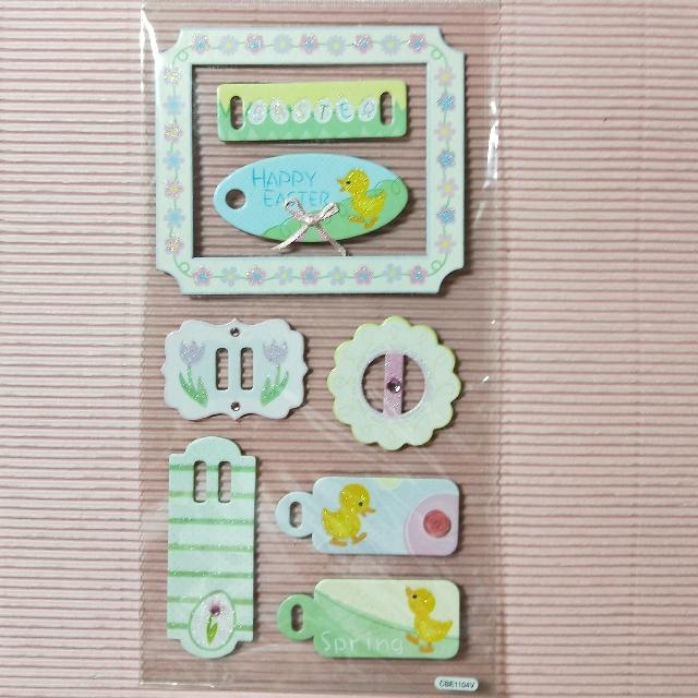 小鴨包裝裝飾素材