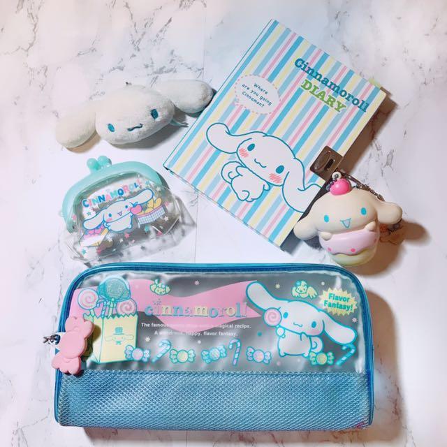 日本三麗鷗大耳狗鉛筆盒 零錢包