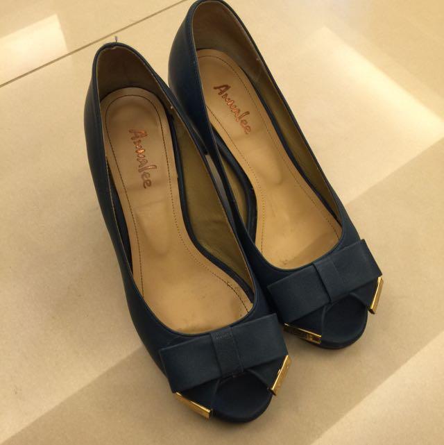 ❗️降價❗️高跟鞋 Annalee (寶藍色)