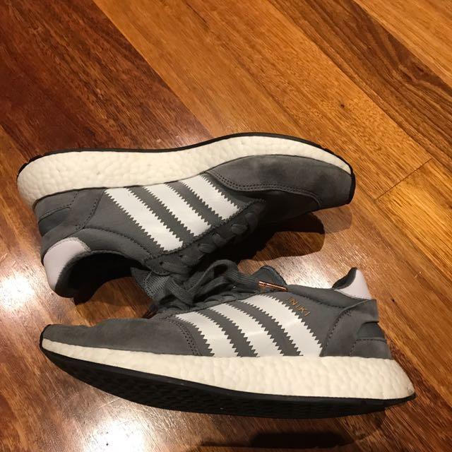 Adidas Iniki Boost Runner Grey