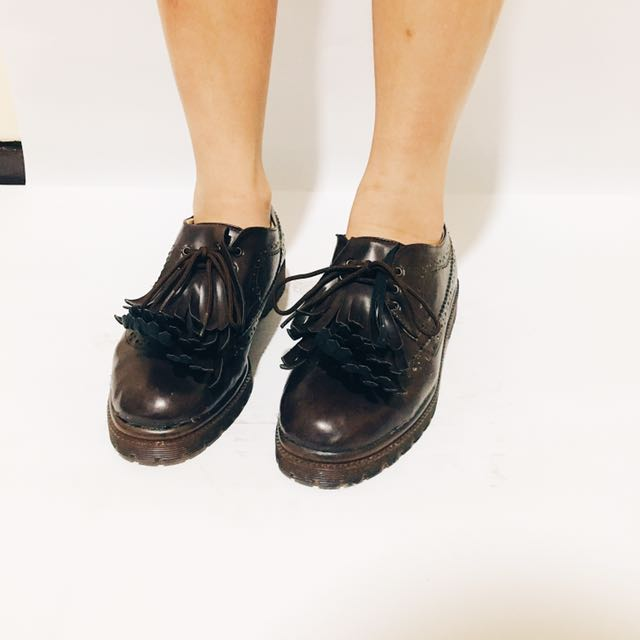 Adorable Semi Boots Brown
