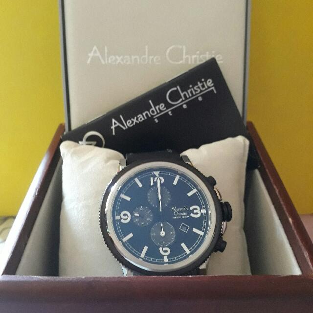 Alexandre Christie Chronograph