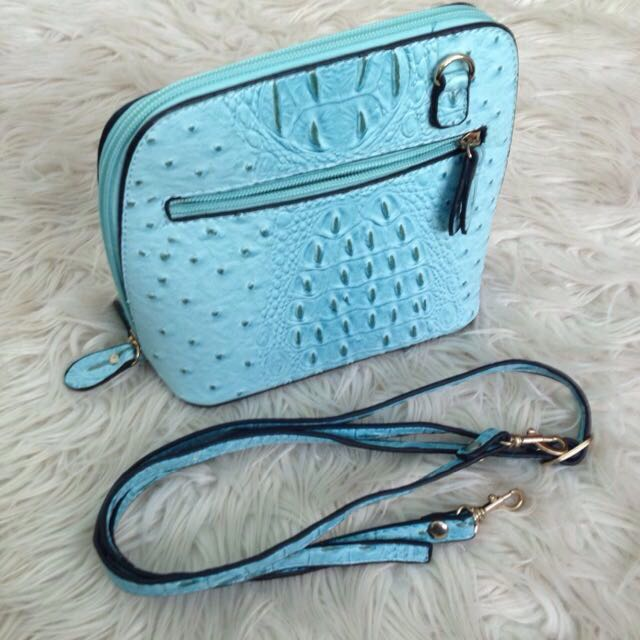Aqua coloured Handbag