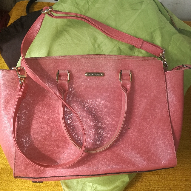 auth anne klein two way bag