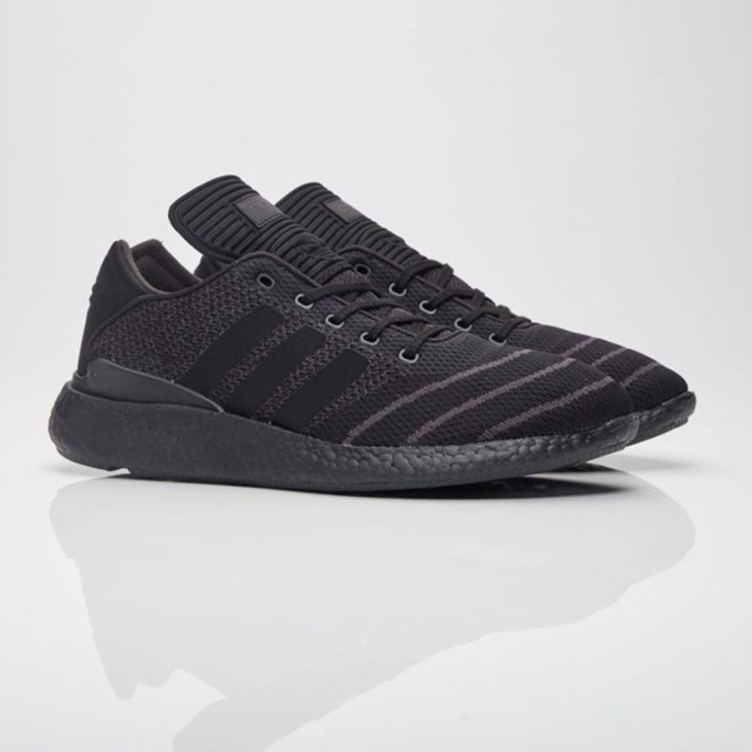 12392f75872fc Authentic Adidas Originals Busenitz Pure Boost Primeknit Triple ...