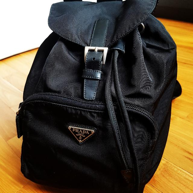 4dd6af79c4 Authentic PRADA Backpack (Vintage 90 s)